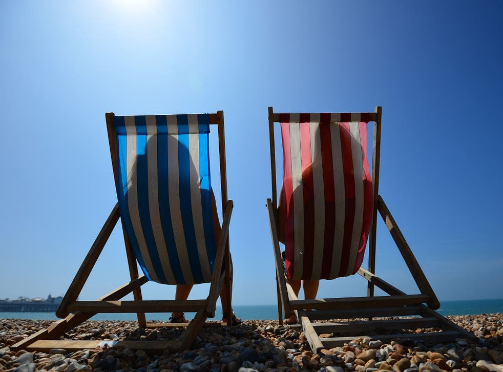 The weather will be caused by warmer air blown in from the continent