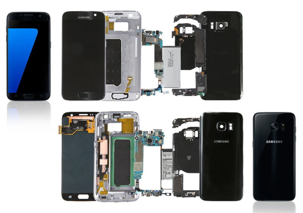 Samsung Galaxy S7 teardown offers detailed look at the
