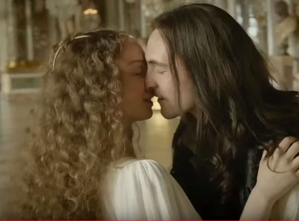 A scene from the trailer for the BBC's latest historical drama, said to be some of the filthiest TV ever