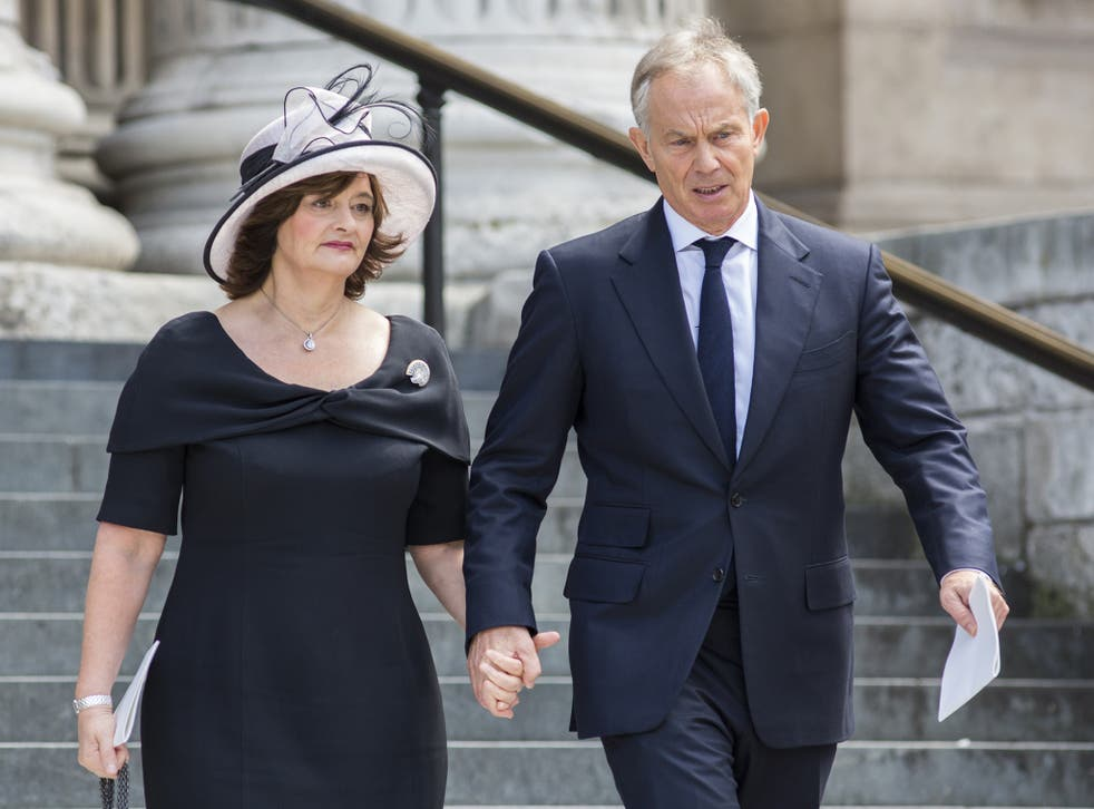 The Blair family have a property empire worth at least £27m