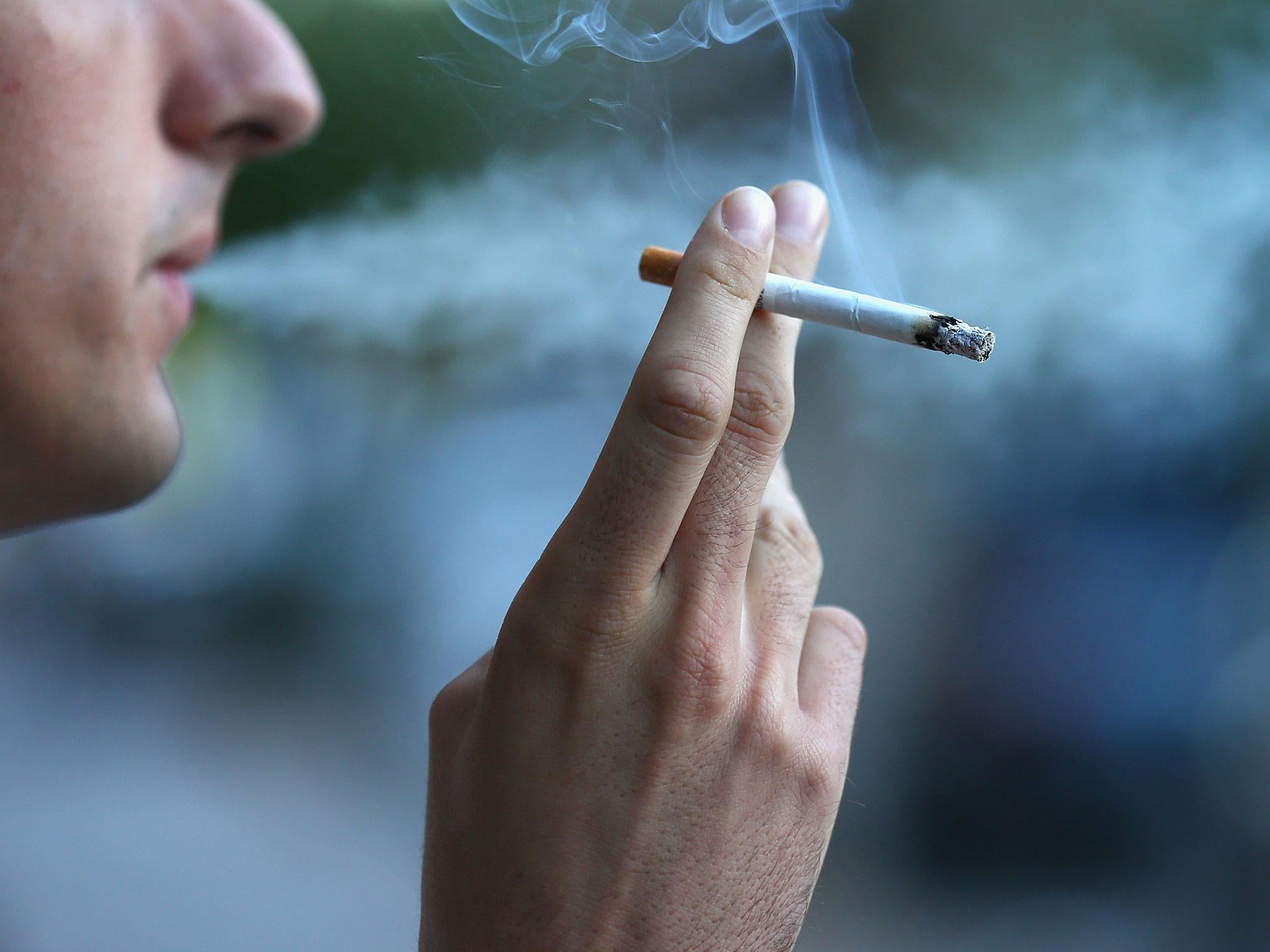 In Britain, children smoke their first cigarette at 3 years