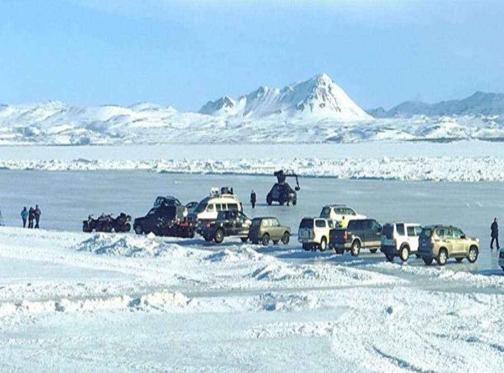 Fast 8 filming in Iceland