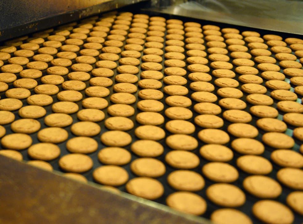Chocolate digestives are among the biscuits that are in short supply as well as Jacob's crackers and ginger nuts