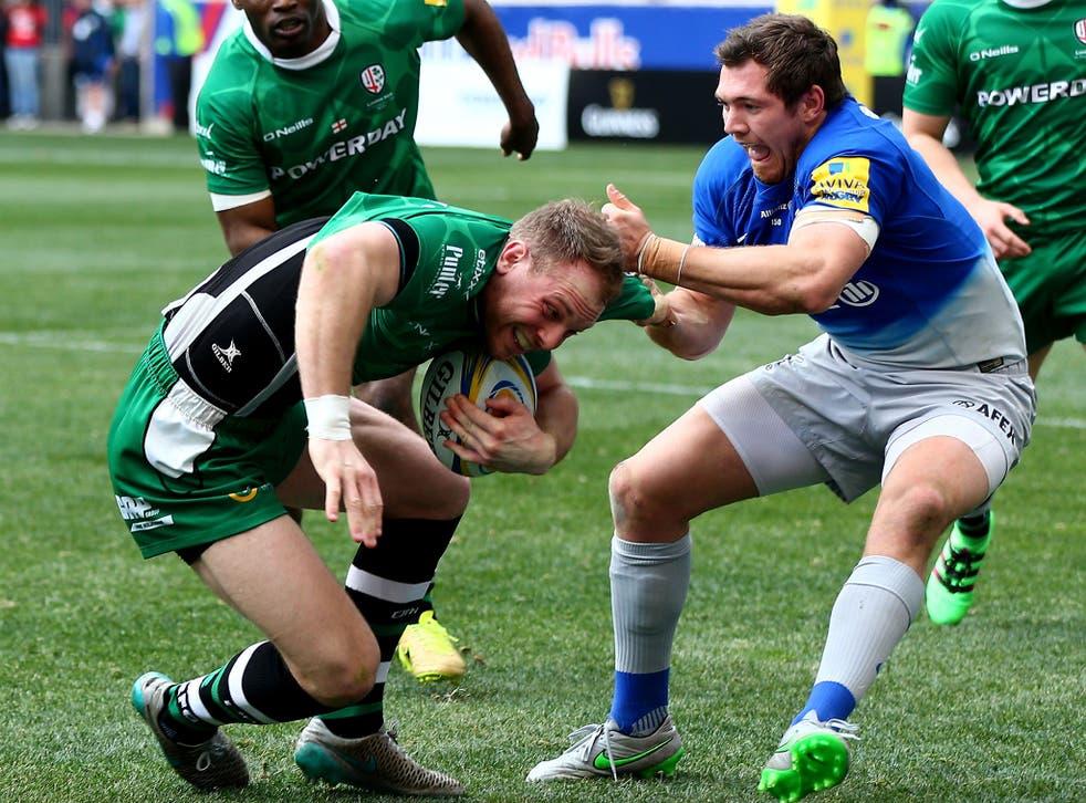 Alex Goode in action for Saracens against London Irish