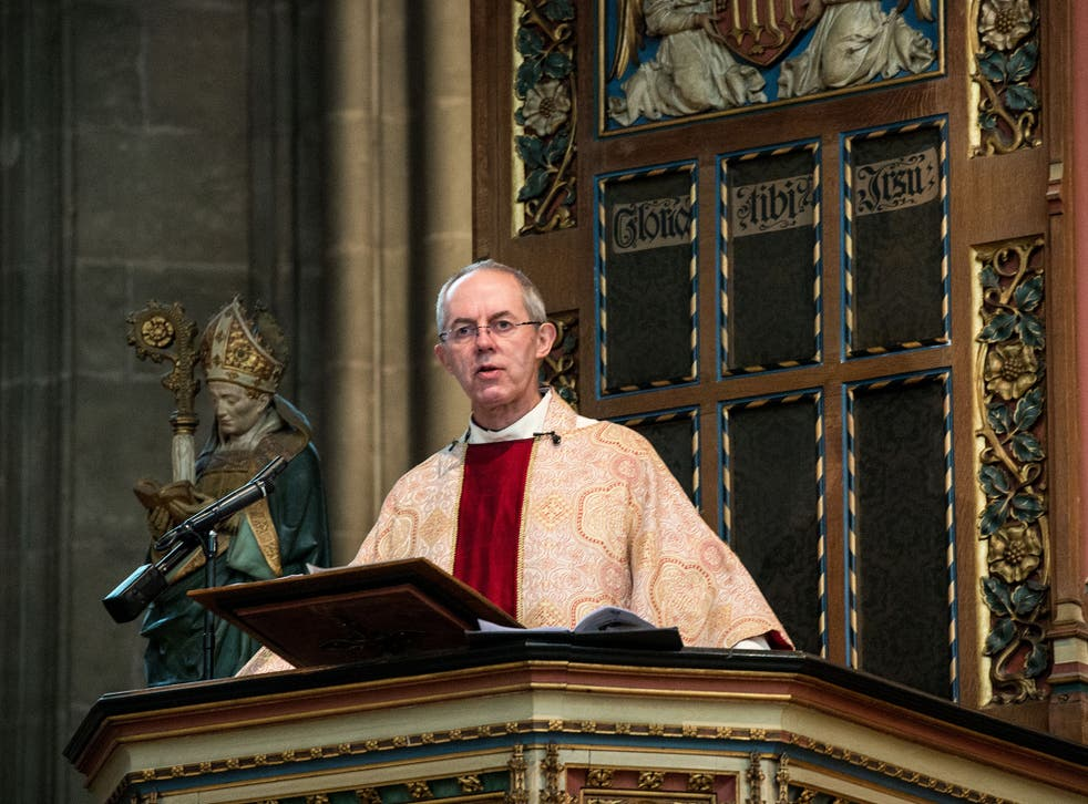 The Archbishop of Canterbury, Justin Welby, might be surprised to learn his congregation is shunning conventional religious beliefs