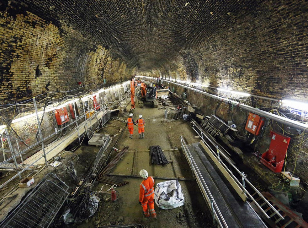 Crossrail is budgeted to cost almost £15bn to deliver in full