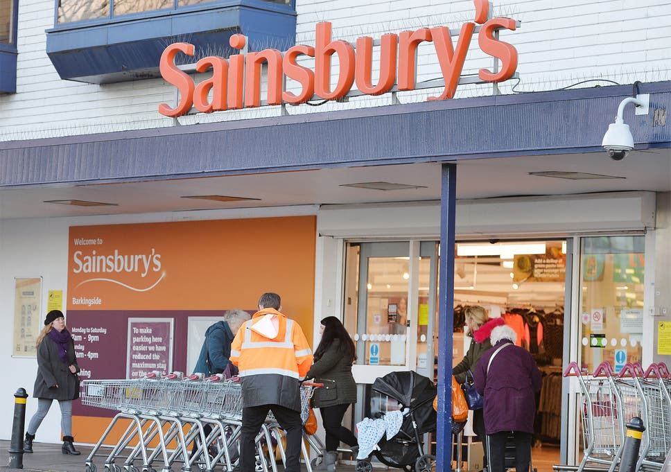sainsbury s warns up to 600 jobs could go in merger with argos owner
