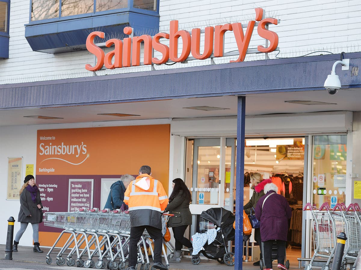 sainsbury's shares top ftse 100 after recordbreaking
