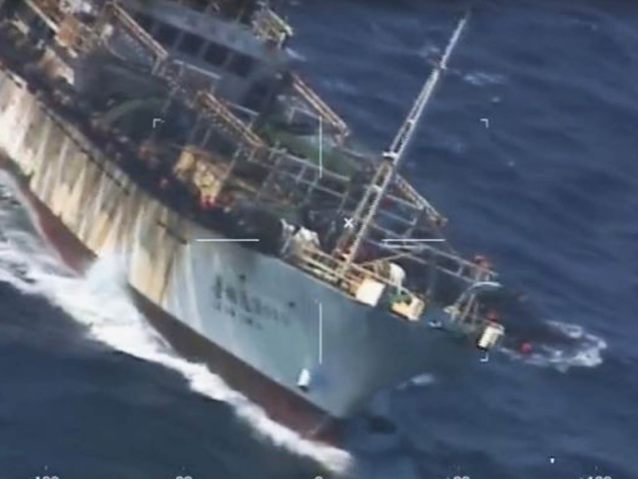 Argentina Sinks Chinese Boat With Gunfire Over 39 Illegal Fishing 39 In Its Waters The Independent