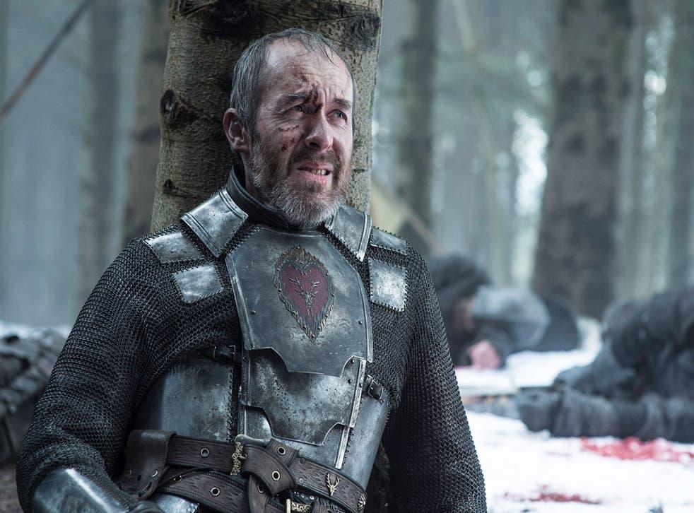 Stephen Dillane as Stannis Baratheon in Game of Thrones season five