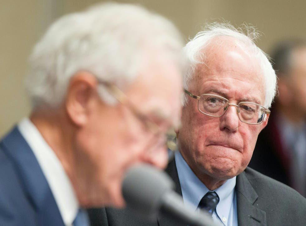 Sanders will continue to fight but cannot win.