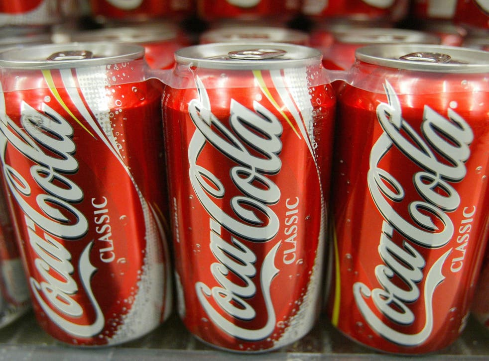 """Den Hollander said the nutritional information on Coca Cola products helps consumers to make """"informed choices"""""""