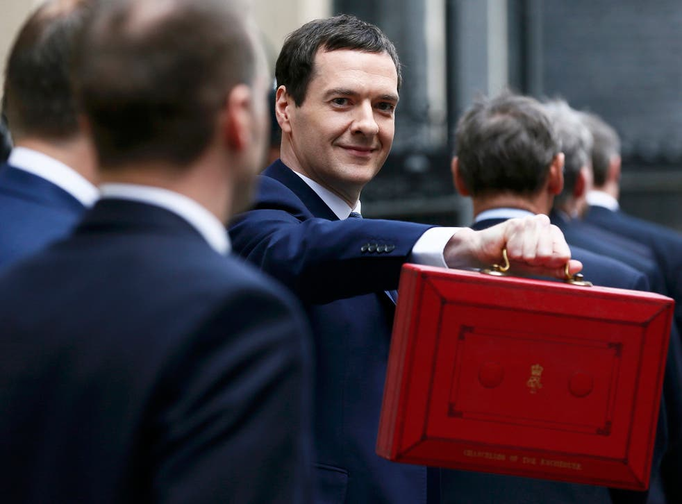 George Osborne announced