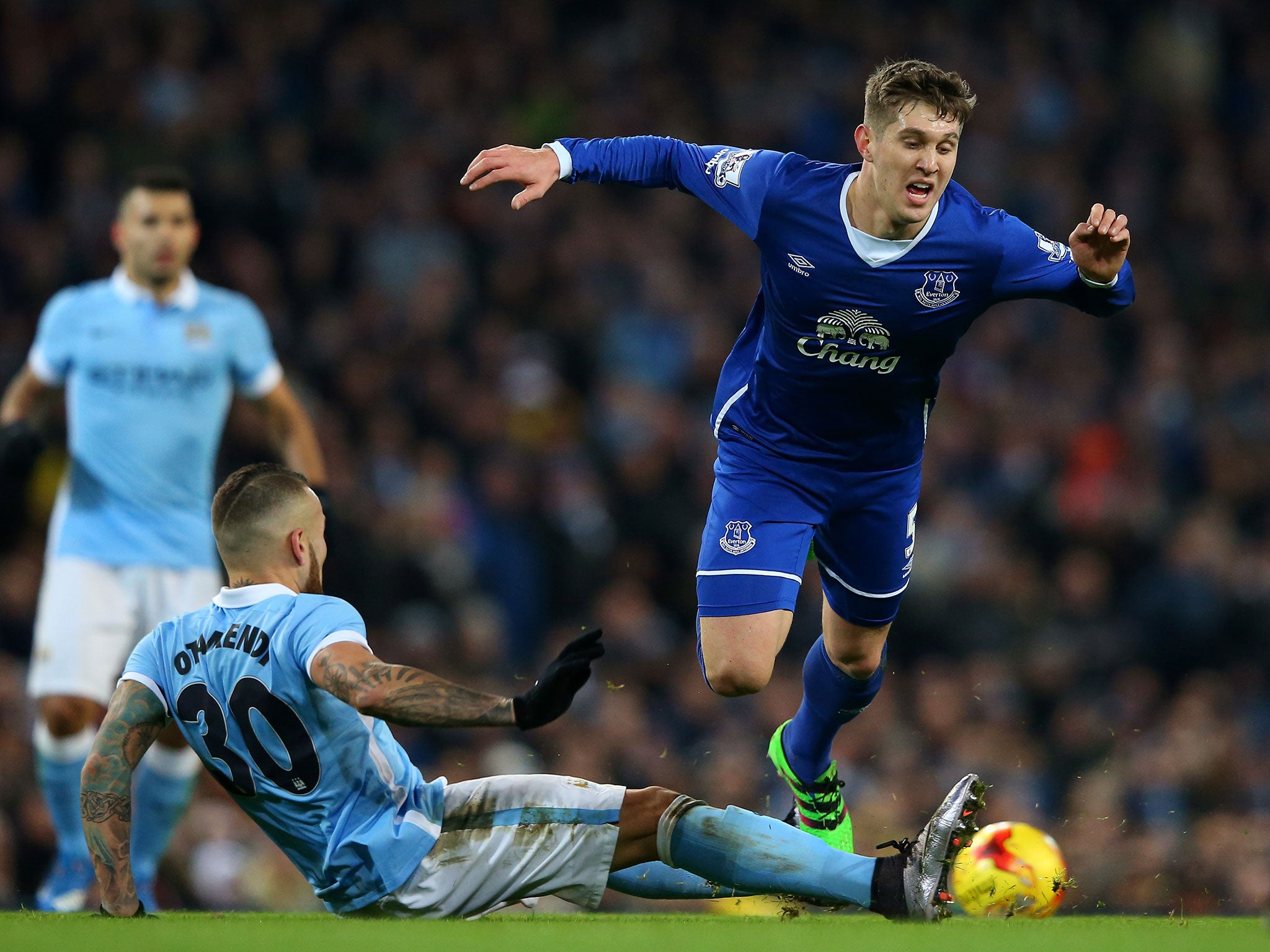 Pep Guardiola wants John Stones and Aymeric Laporte at