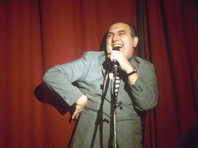 Gentle lefty: the 'fearsomely articulate' Alexei Sayle