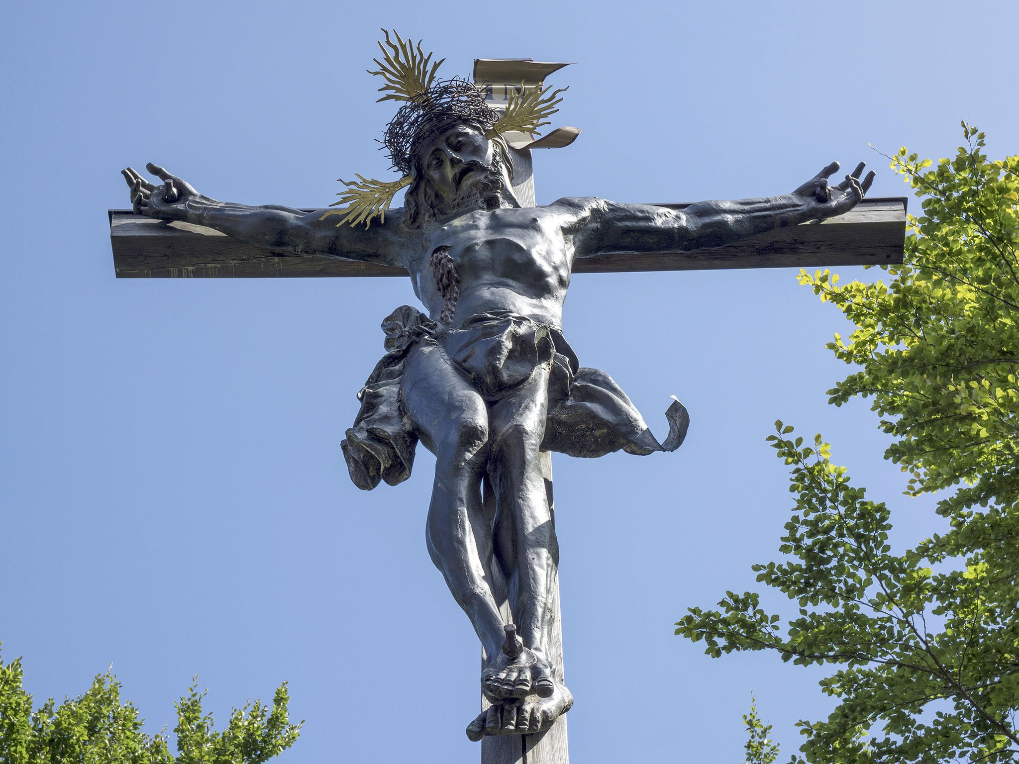 was jesus christ really nailed to the cross the independent
