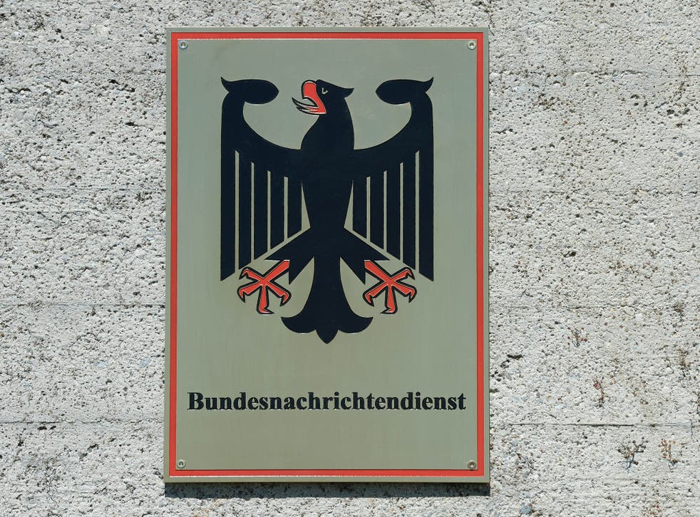 The emblem of the German Federal Intelligence Service