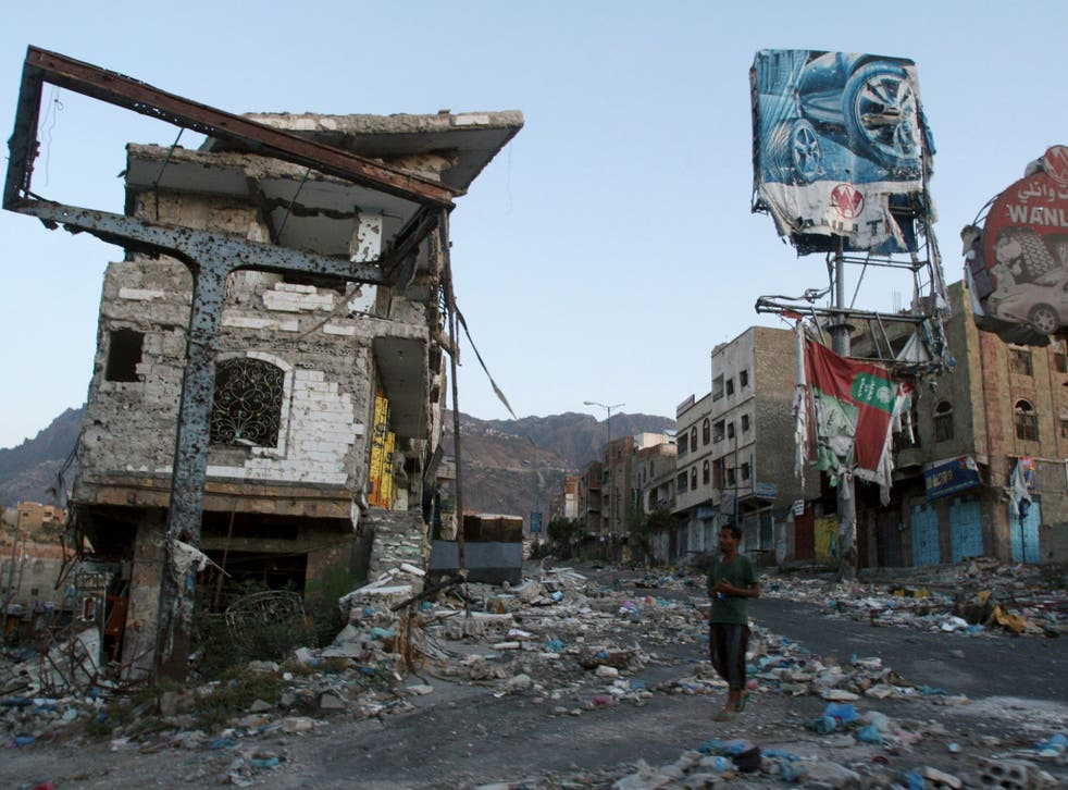 The town of Taiz is under siege by the Houthis