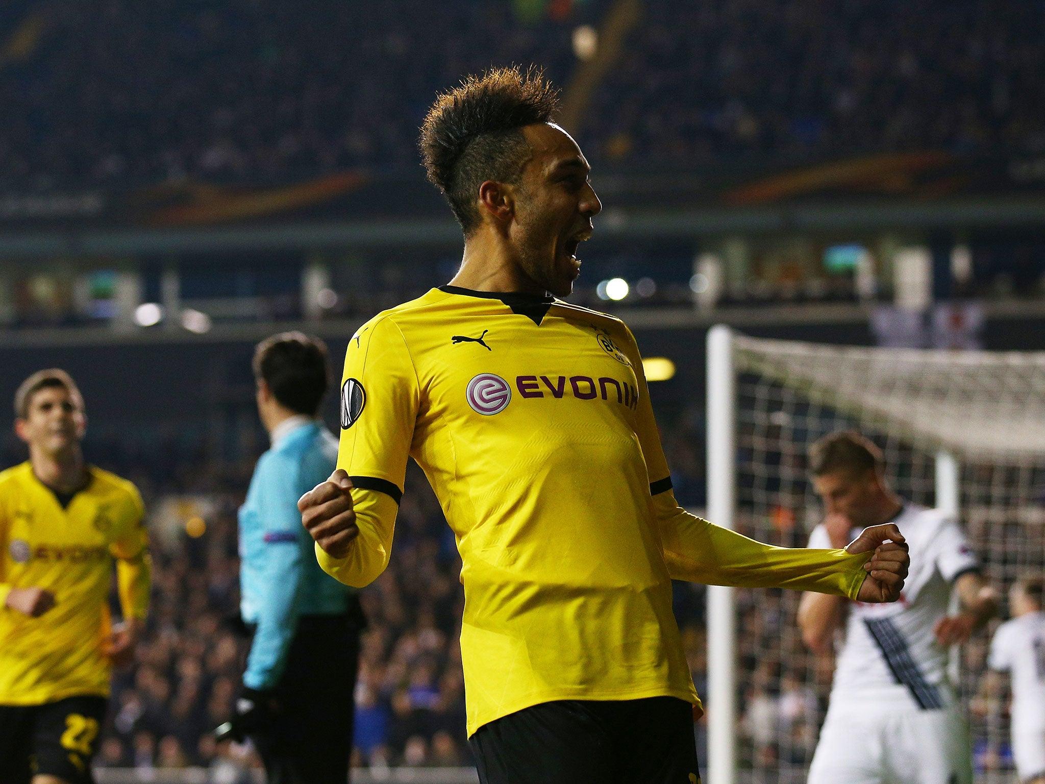 Tottenham vs Borussia Dortmund Pierre Emerick Aubameyang double