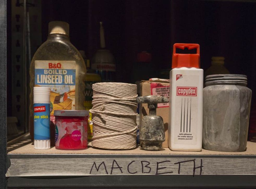 In Forced Entertainment's 'Complete Works: Table Top Shakespeare', characters were represented by household goods