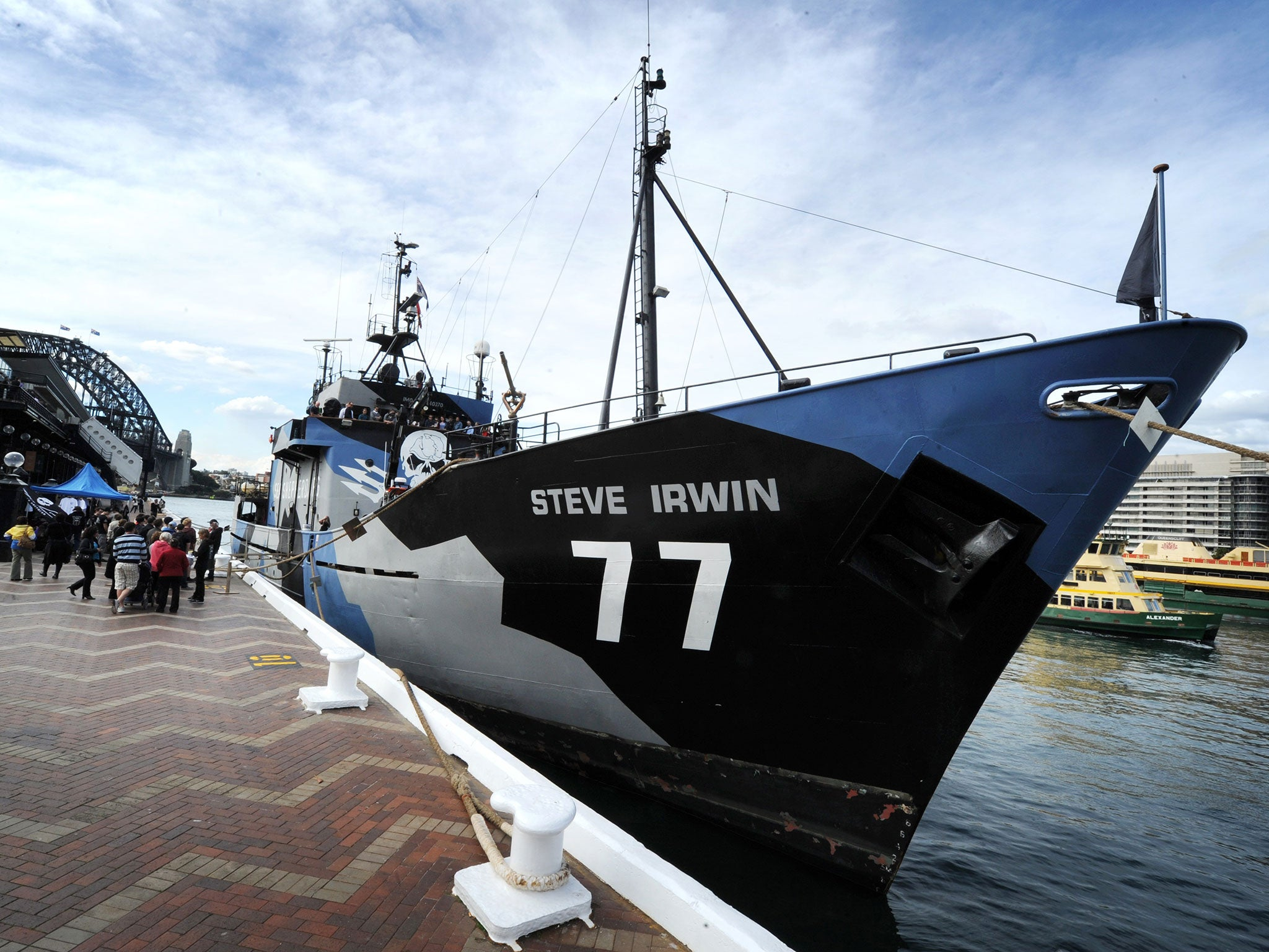 Sea Shepherd Conservation Group In High Seas Pursuit Of Chinese Fishing Boat Over Alleged