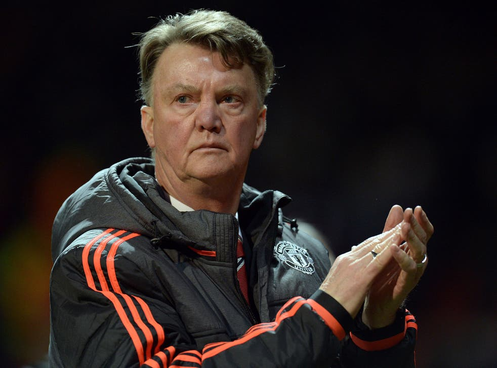 Louis van Gaal admitted he was pleased with Manchester United's performance despite Europa League elimination