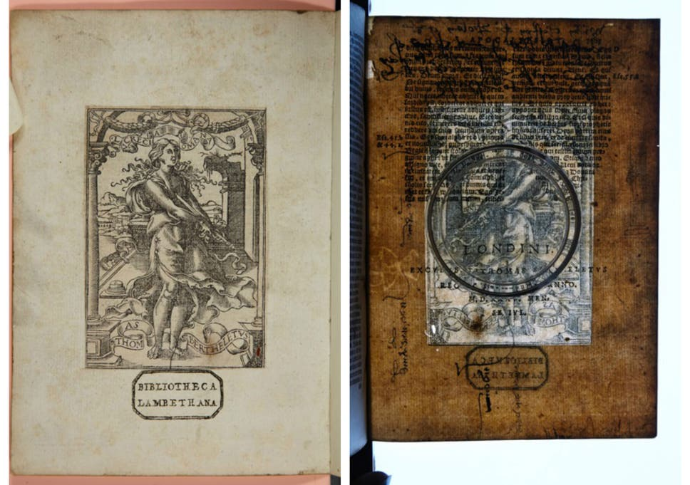 Hidden notes found in England's oldest bible, printed by