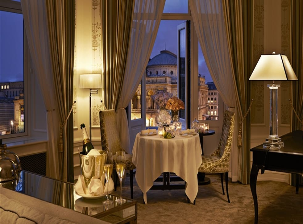 Private dinner at Hotel D'Angleterre