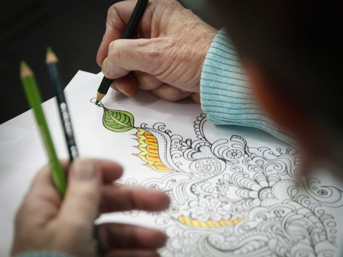 Colour Of Money The Rise Of Colouring Books For Grown Ups The Independent The Independent
