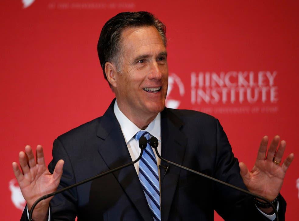 Mitt Romney likes Ted Cruz more than he likes John Kasich.