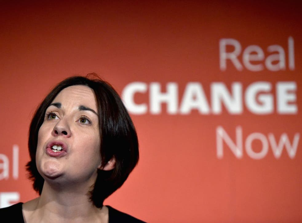 Party leader Kezia Dugdale failed to be elected to her target constituency of Edinburgh Eastern