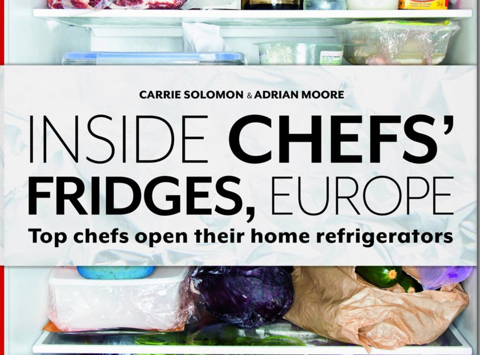 """Authors Carrie Solomon and Adrian Moore travelled around Europe photographing the refrigerators of top chefs for the book """"Inside Chefs' Fridges, Europe"""""""