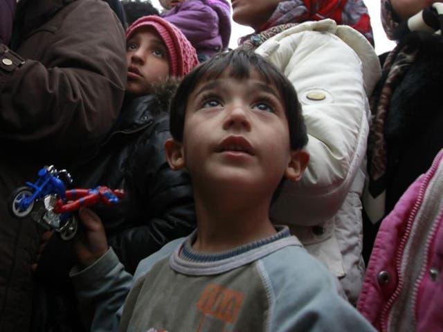 Lord Dubs said taking 3,000 children would be 'Britain's fair share'