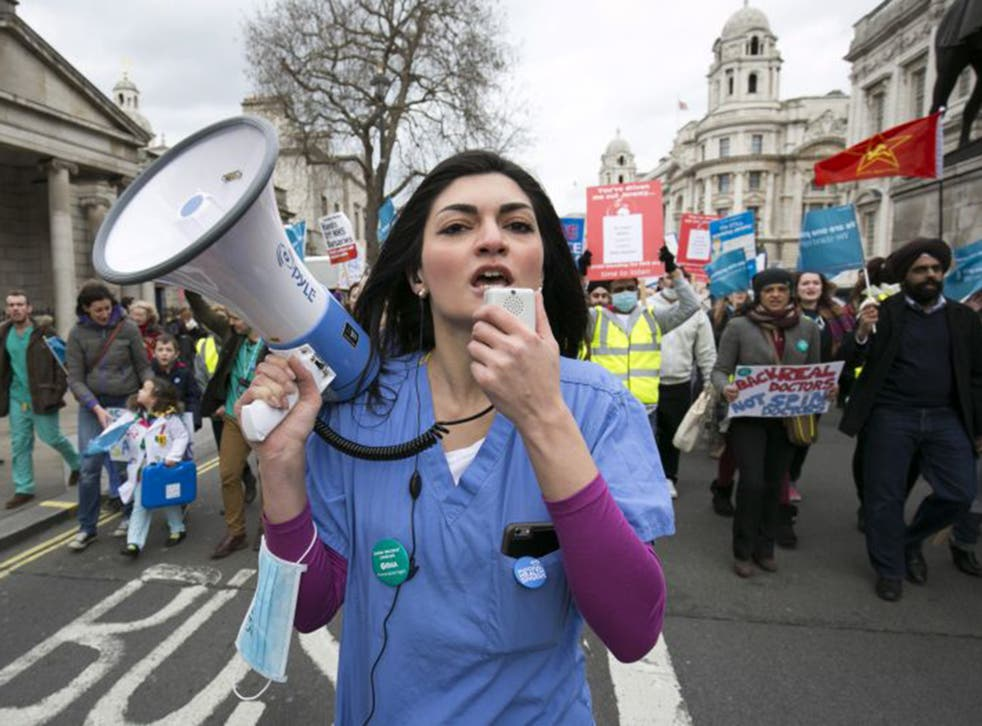 Junior doctors are fighting back against the contract imposed upon them by government.