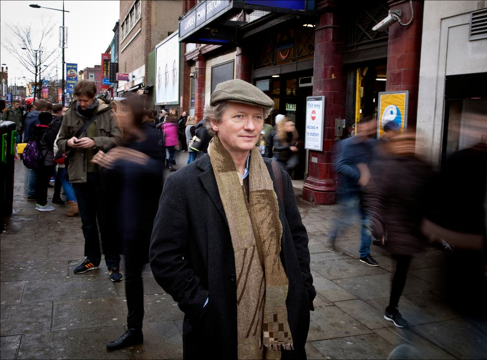 In search of balance: Independent writer Peter Popham has been plagued by tinnitus for many years.