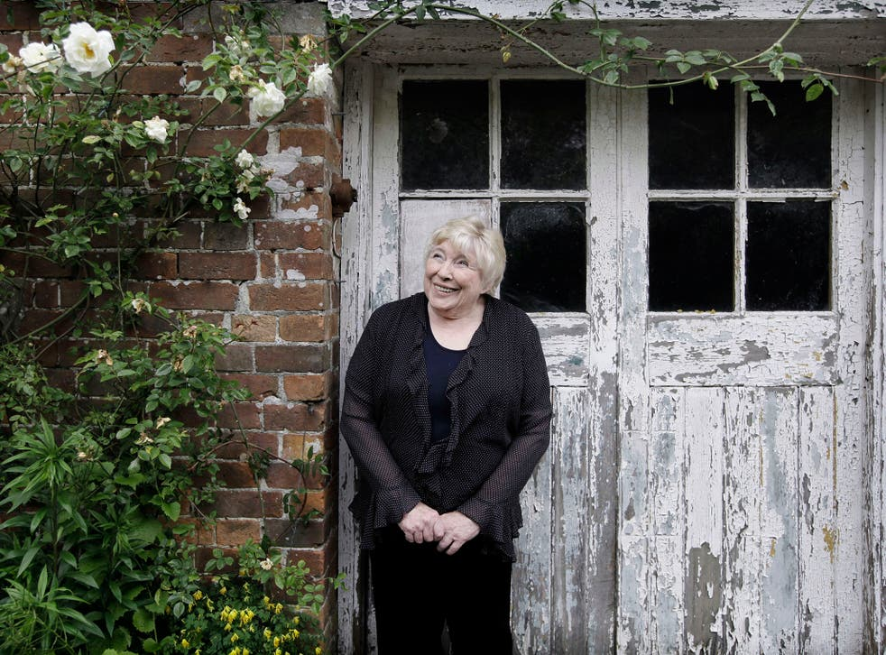 Fay Weldon at home in Dorset, was warned by her grandfather: 'Never trust a publisher'.