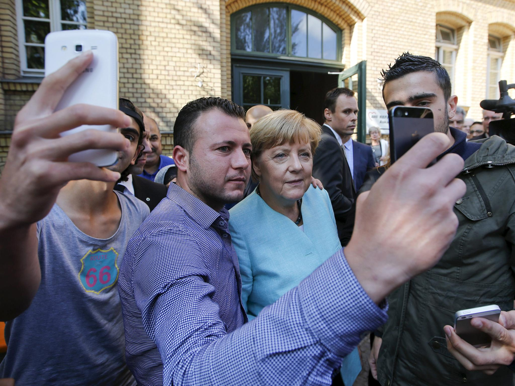 How Angela Merkel's open-door immigration policy protects Germany from terrorism in the long-run