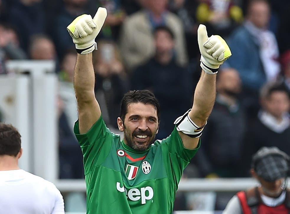 Juventus goalkeeper and captain Gianluigi Buffon