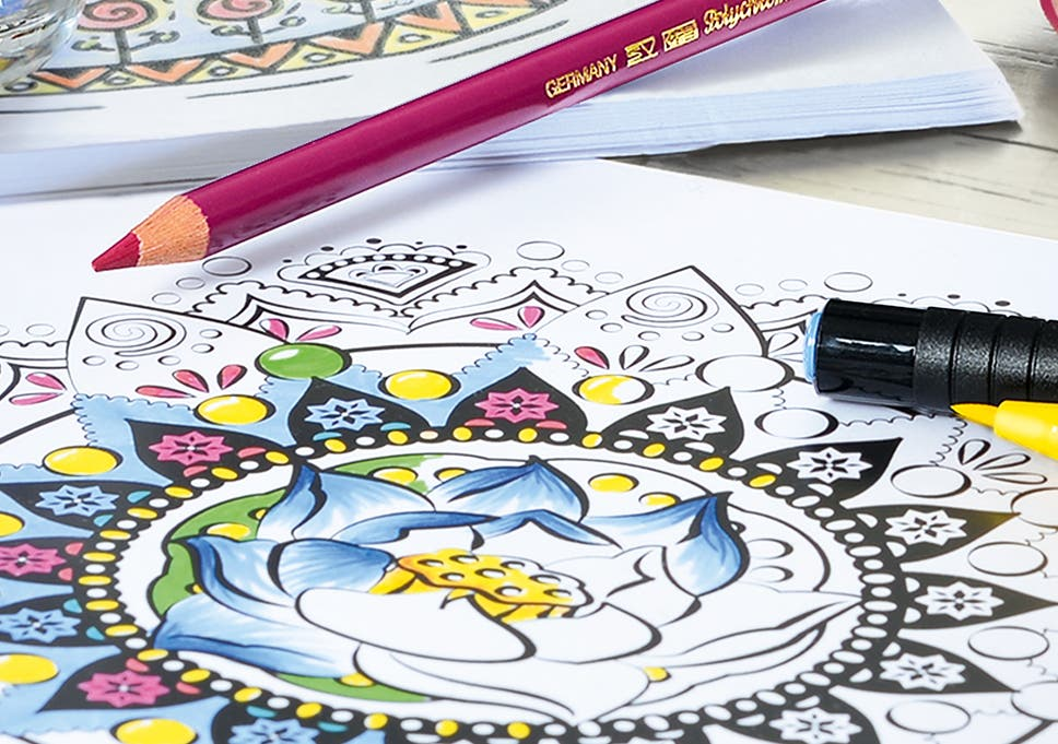 Colouring Books Have Become A Surprising Feature Of Many Bookshops Bestsellers Lists In Recent Years