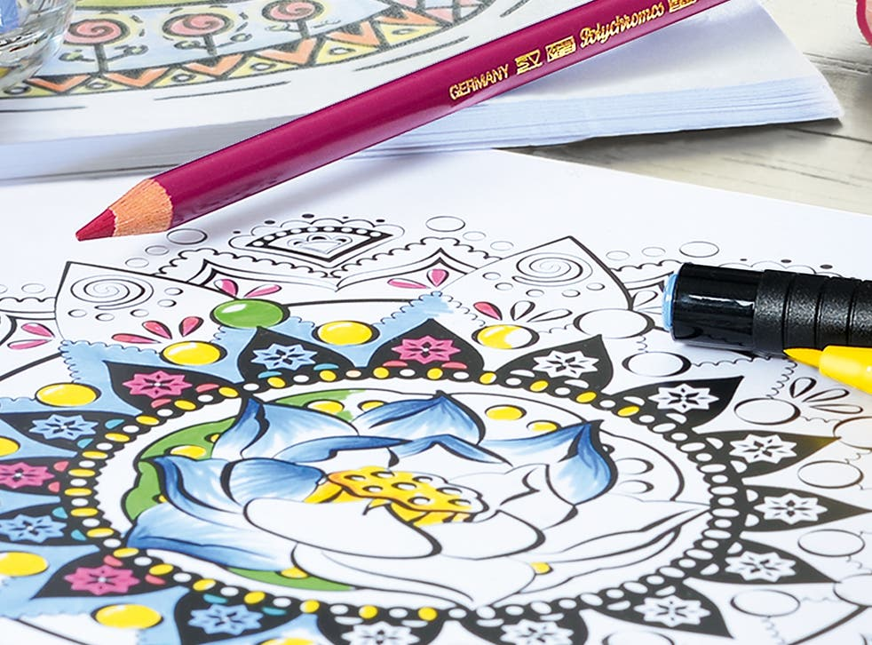 Colouring books have become a surprising feature of many bookshops' bestsellers lists in recent years