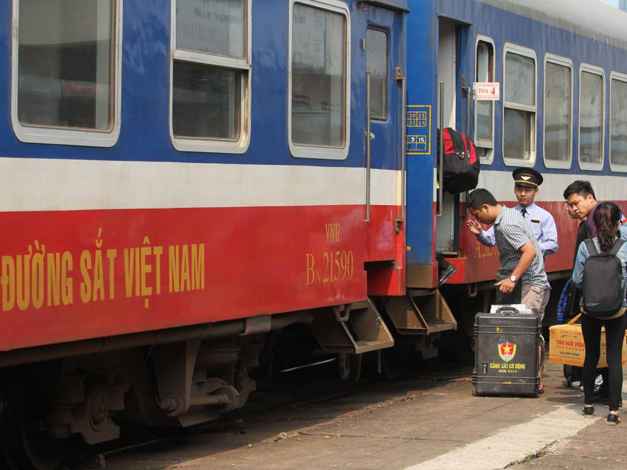 Riding the Reunification Express in Vietnam