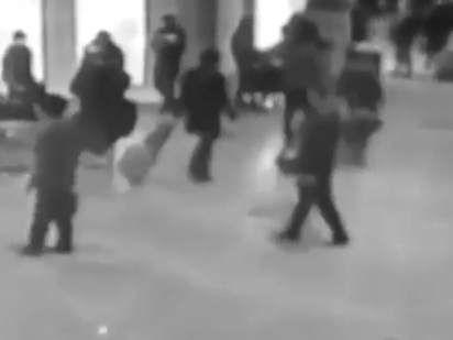 The 'CCTV footage' of the Brussels Airport explosions was from 2011