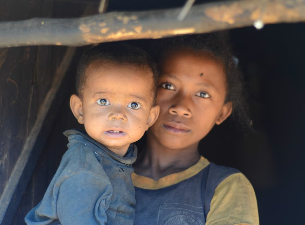 Julie dropped out of school a few years ago to care for her family when her mother became unwell. Her day begins at 5 am with a long, treacherous walk to the river for water; her younger siblings are frequently ill, and her father blames her when this happens.