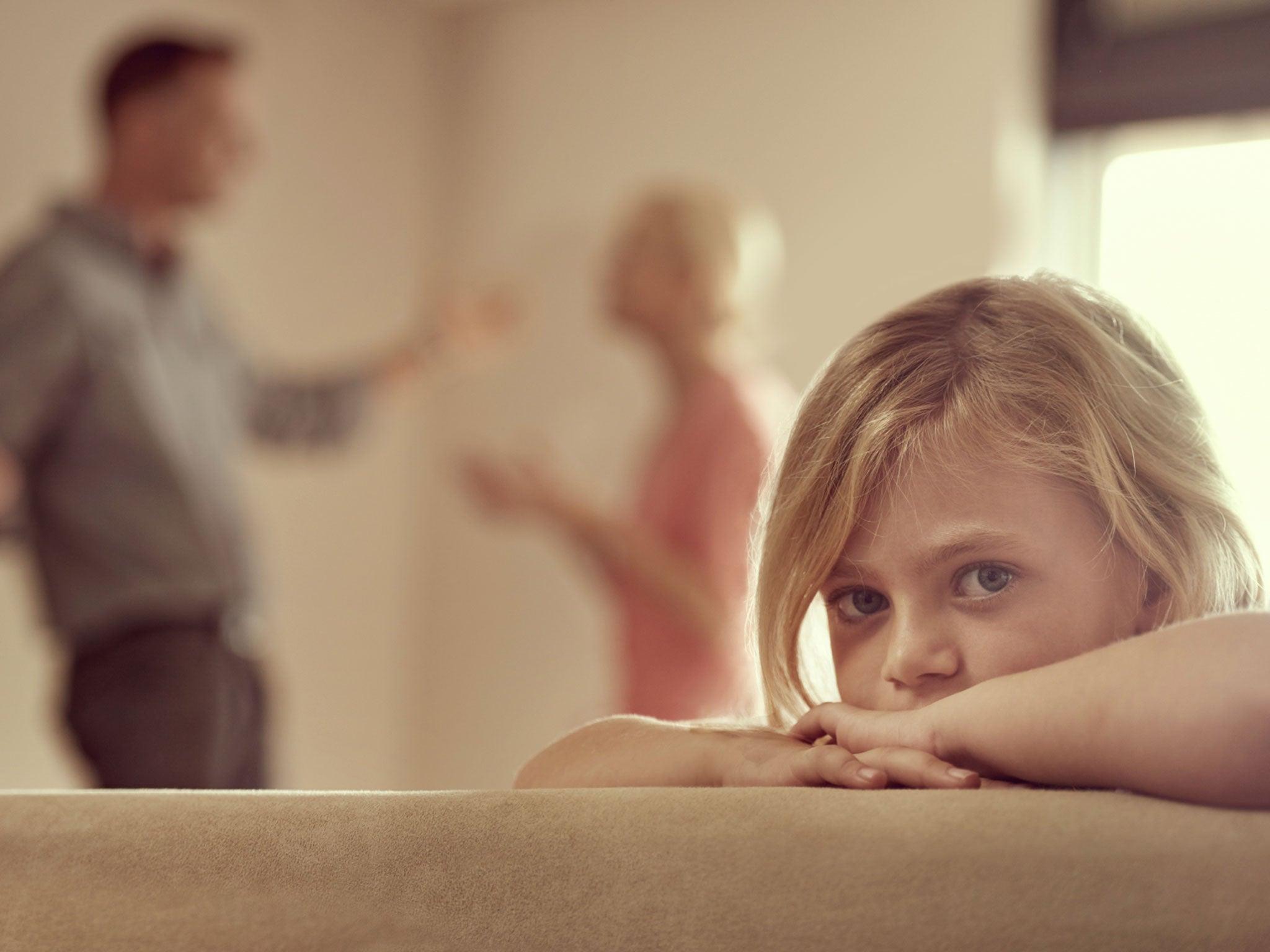 Nervous parents - children suffer