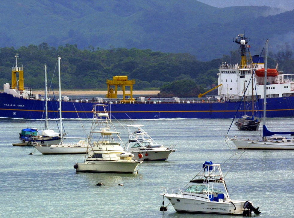 The Panama Canal is shrinking as its surrounding lakes dry up