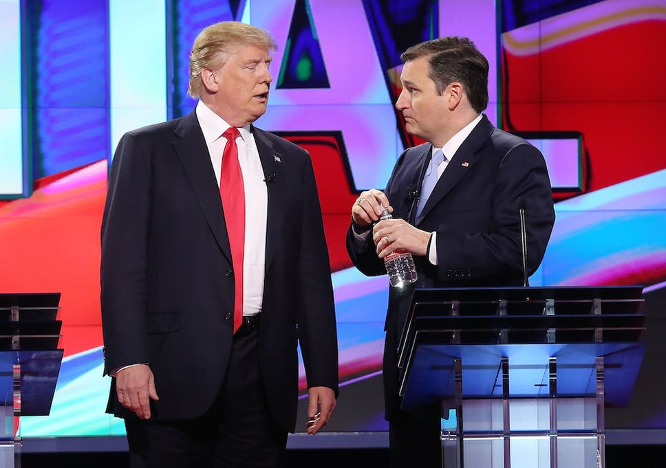 Donald Trump threatens to 'spill the beans' on Ted Cruz's