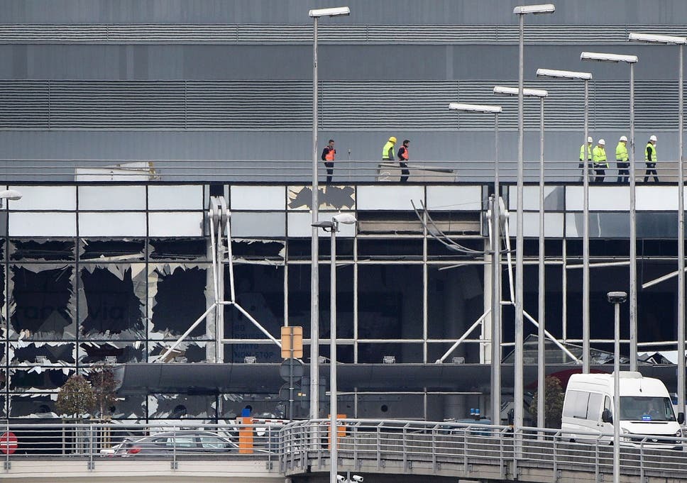 Why was Brussels Airport a target for terrorists? Can