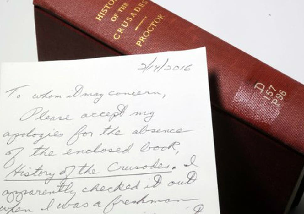 Man returns library book with apology note after 49 years