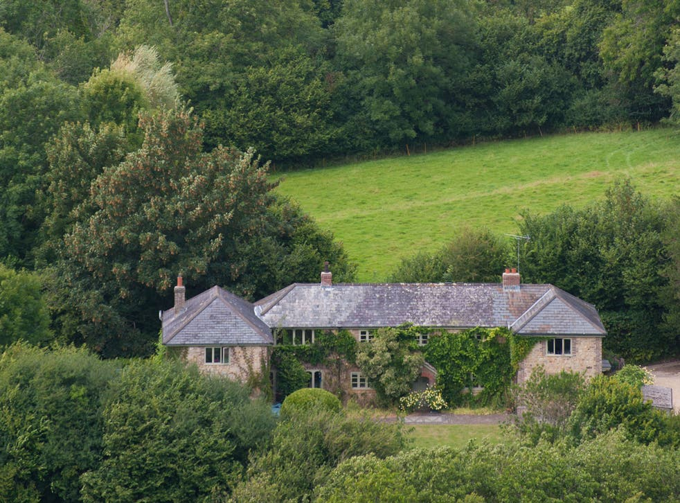 Anna Pavord's house and garden in Dorset