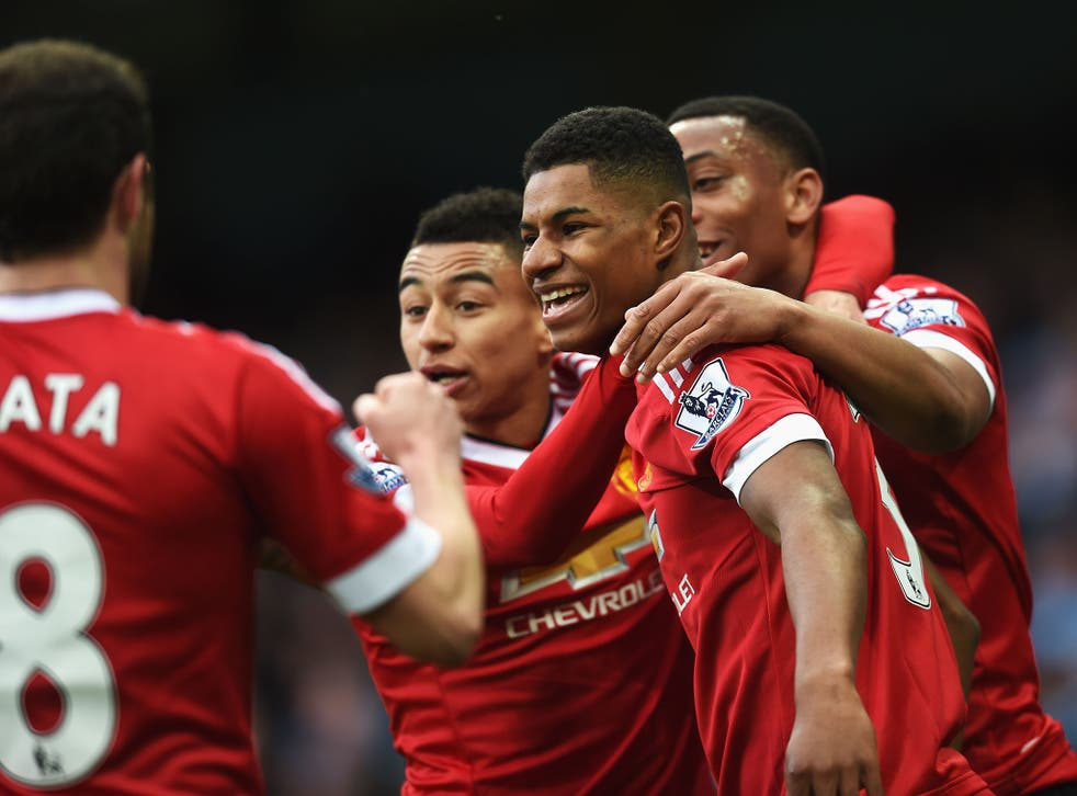 Manchester United are in touching distance of the top four
